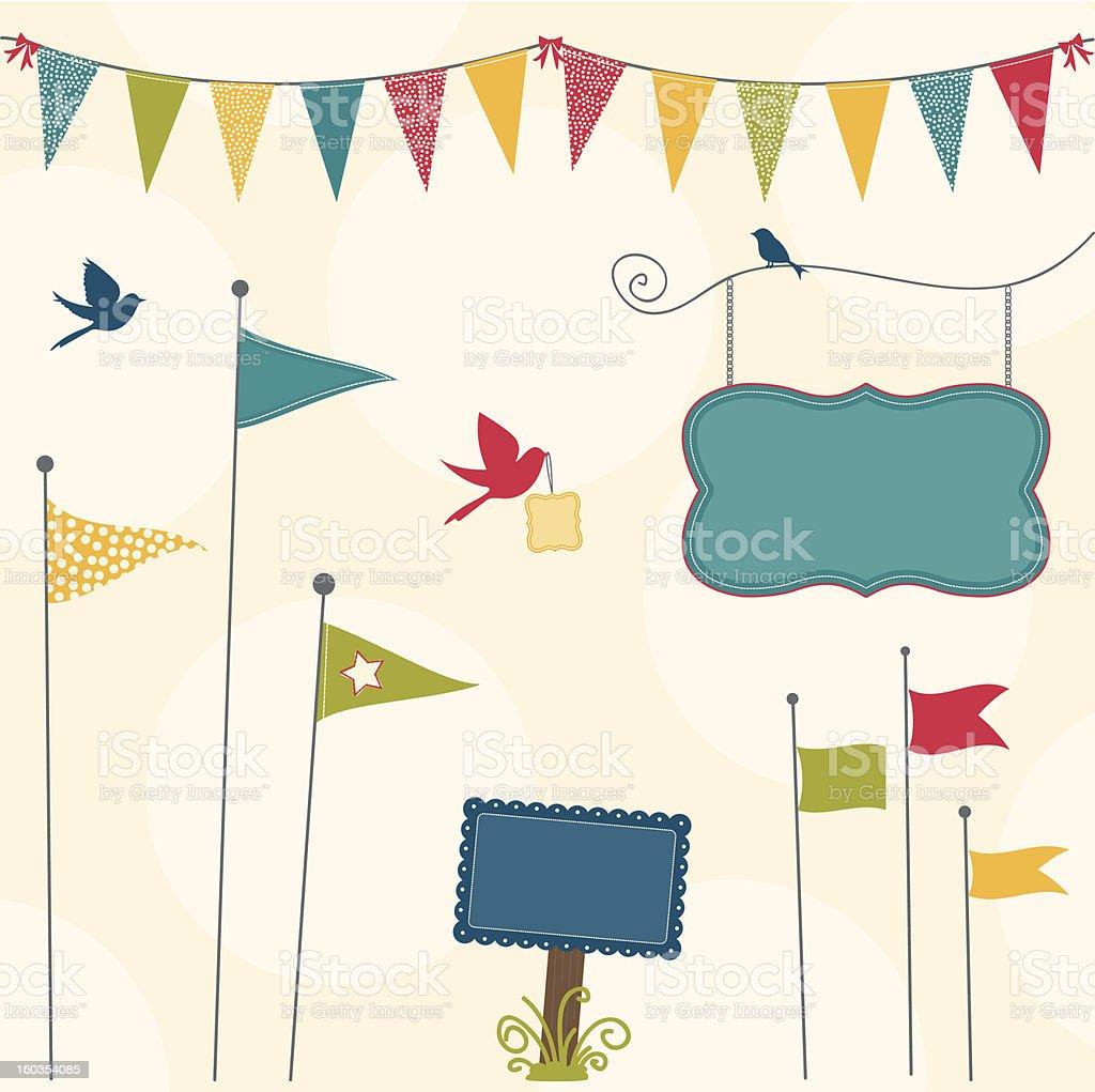 Celebration Collection vector art illustration