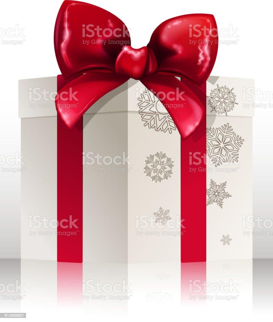 celebration gift box vector art illustration