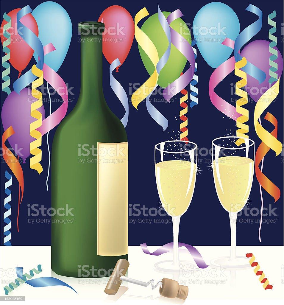 Celebration royalty-free stock vector art