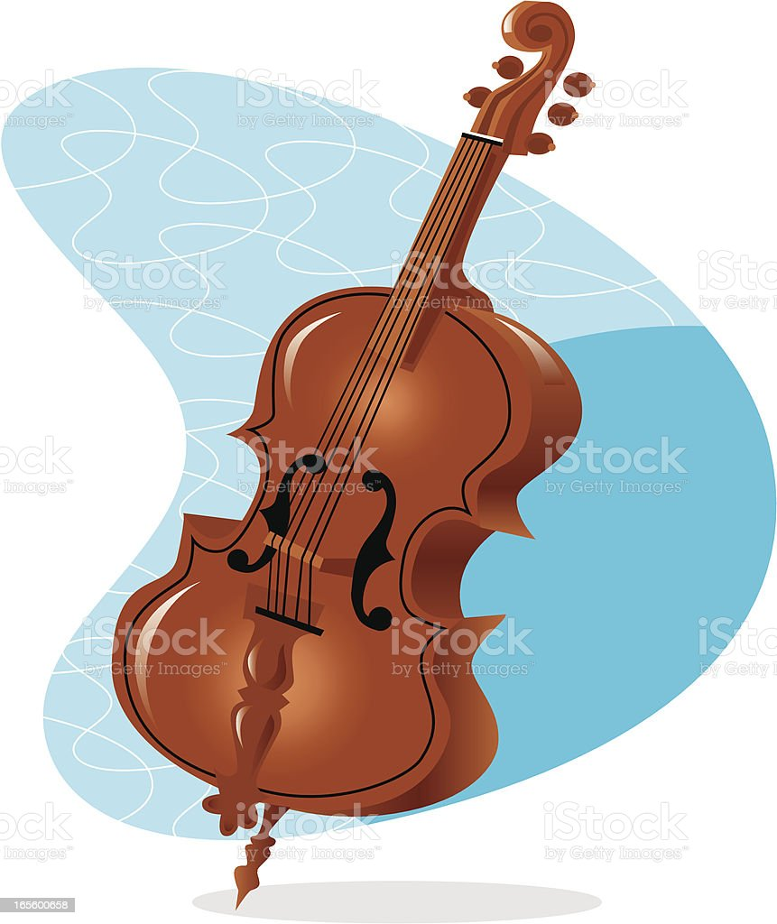 cello royalty-free stock vector art