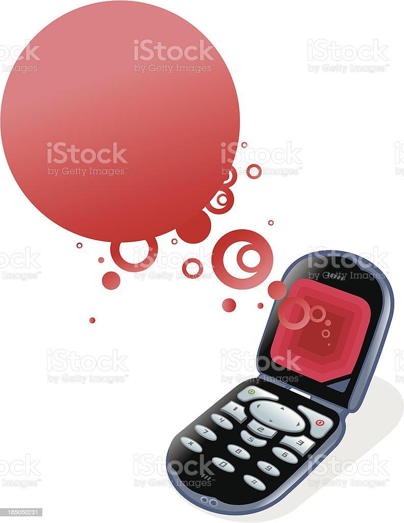 cellphone-expresions illustracion libre de derechos libre de derechos