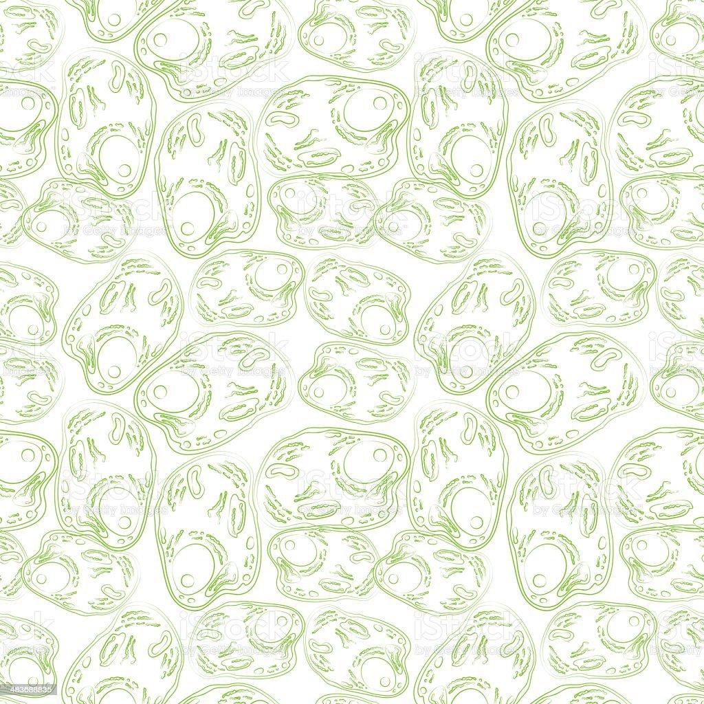 Cells pattern vector art illustration