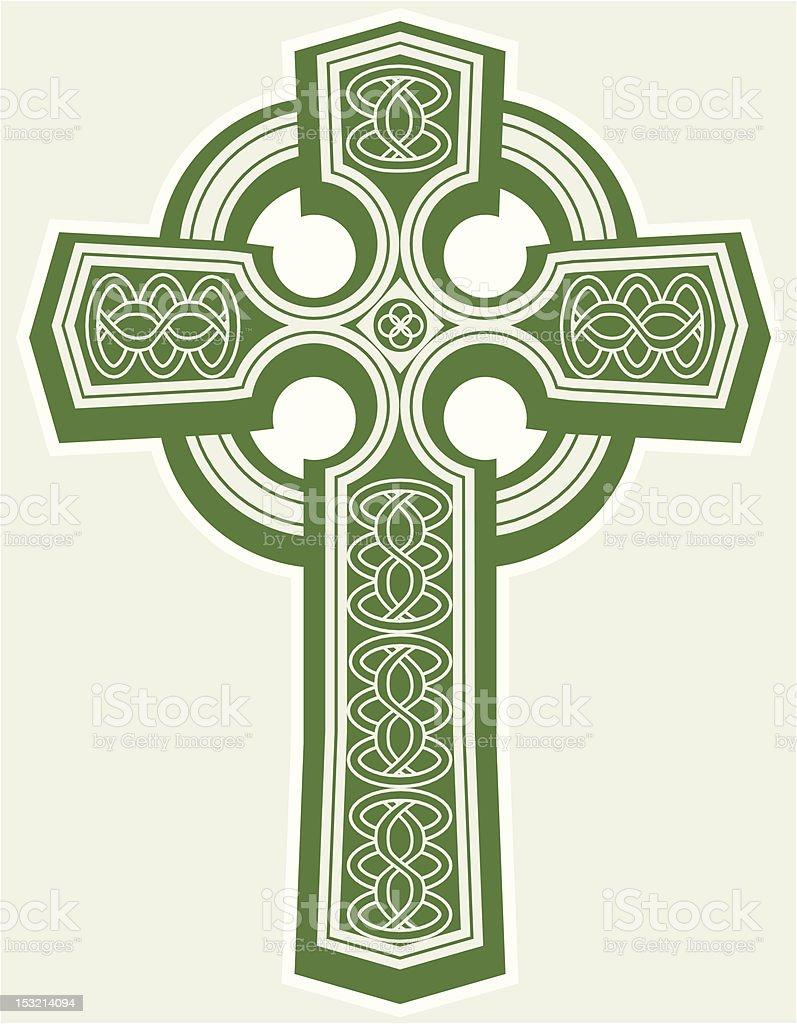 Celtic Cross royalty-free stock vector art