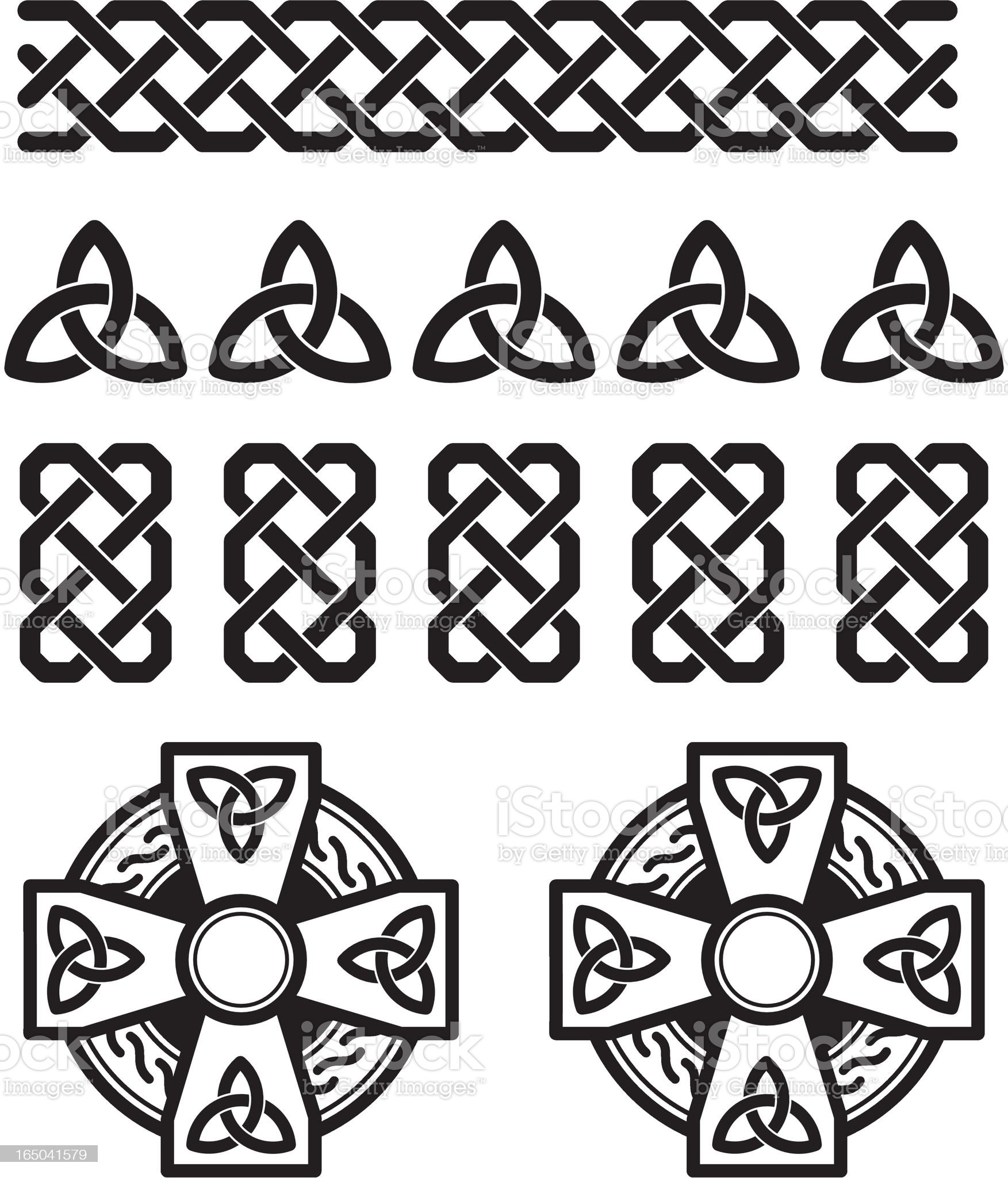 Celtic Elements royalty-free stock vector art