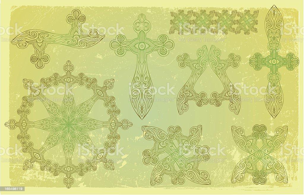 celtic-Elemente Lizenzfreies vektor illustration