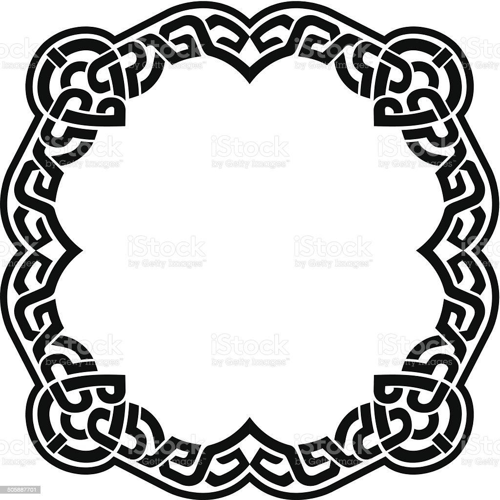 Celtic Frame royalty-free stock vector art