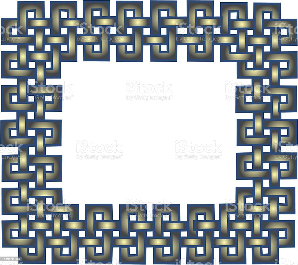Celtic knot 2 royalty-free stock vector art
