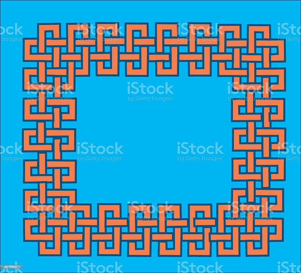Celtic knot 3 royalty-free stock vector art