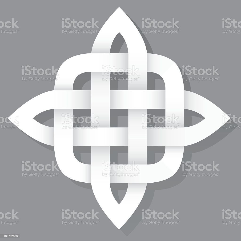 Celtic Knot Icon royalty-free stock vector art