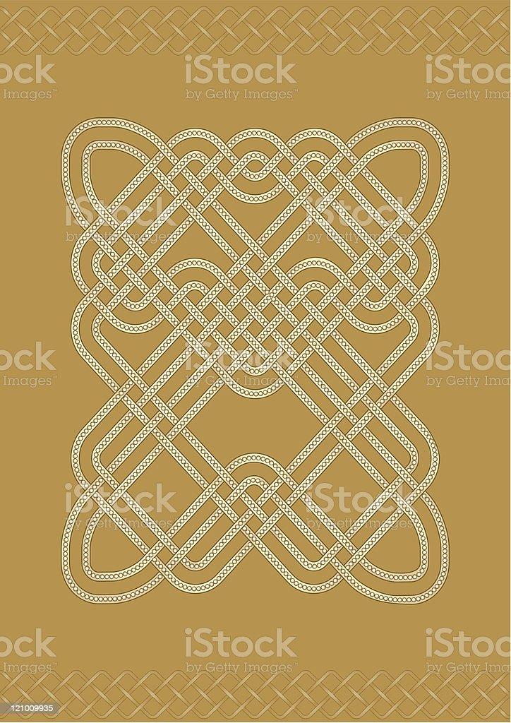 Celtic knot royalty-free stock vector art