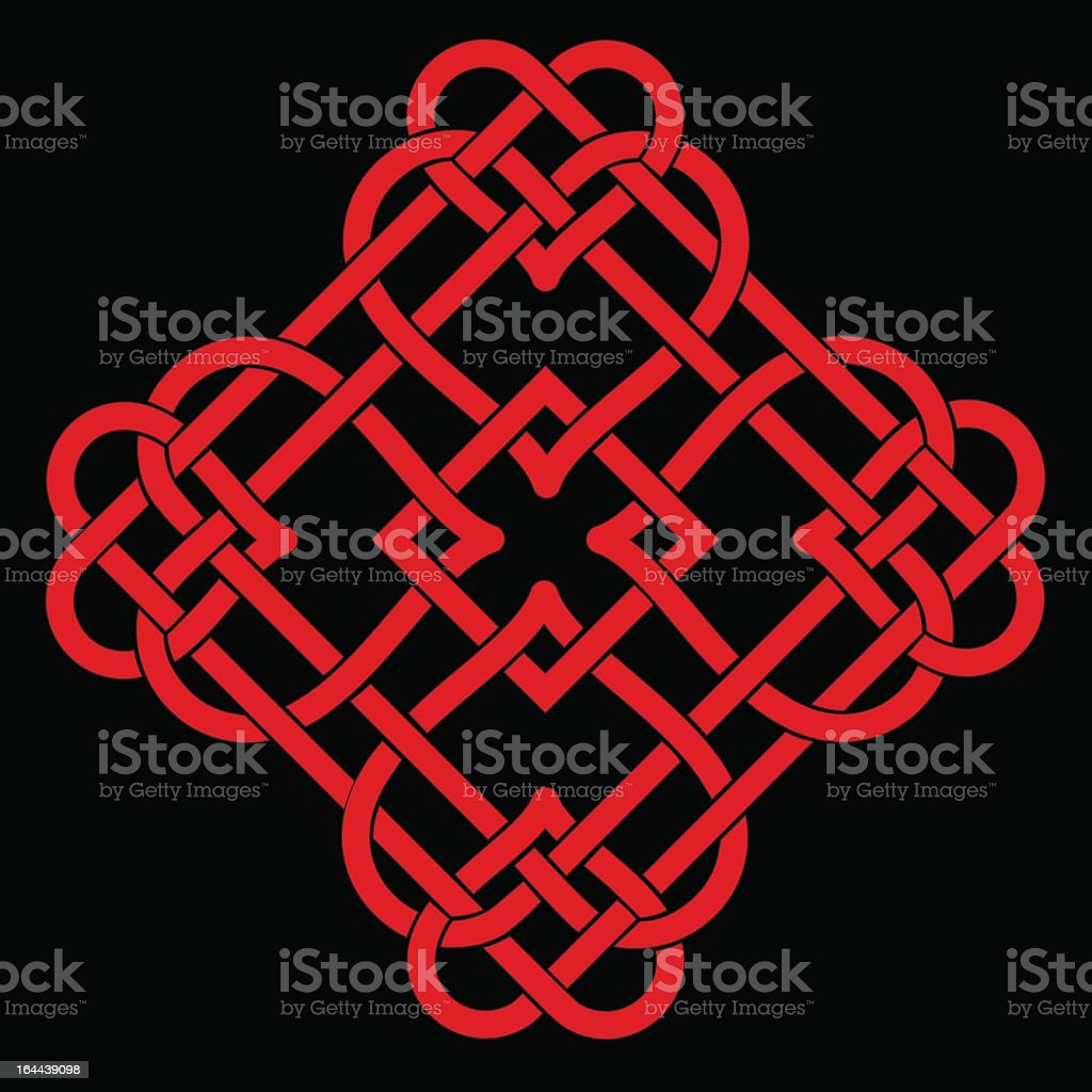 Celtic Knot royalty-free stock vector art