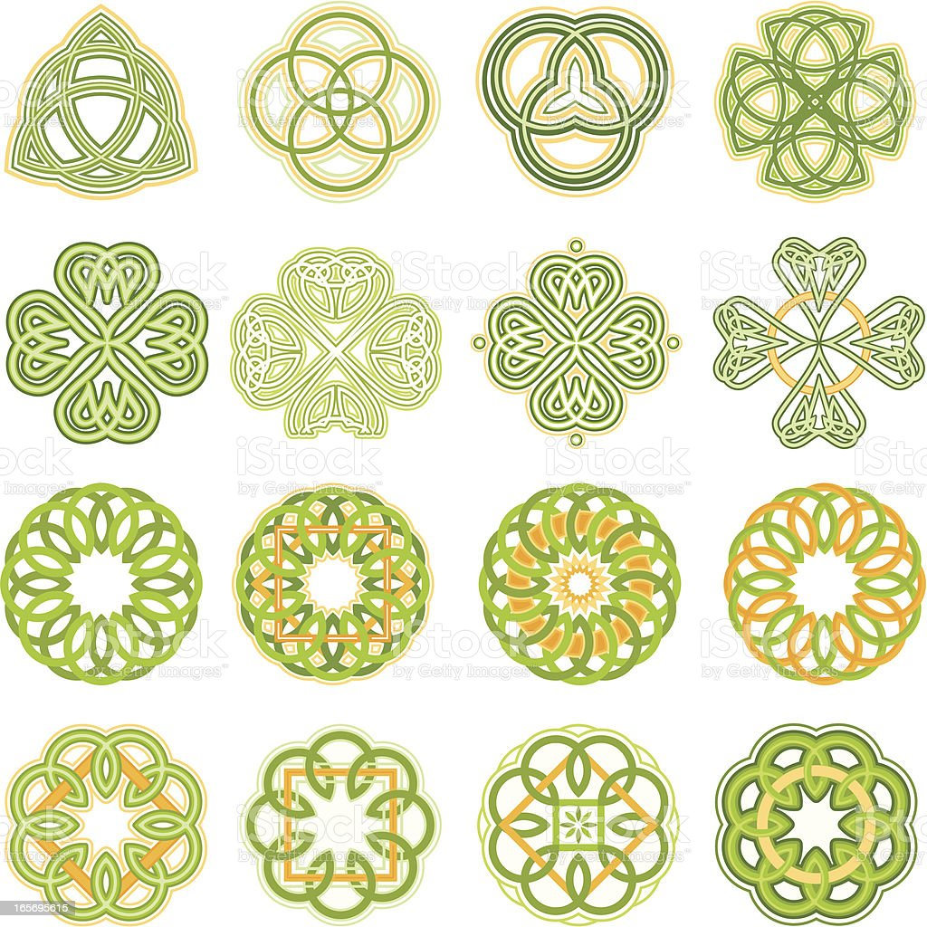 Celtic Knots royalty-free stock vector art