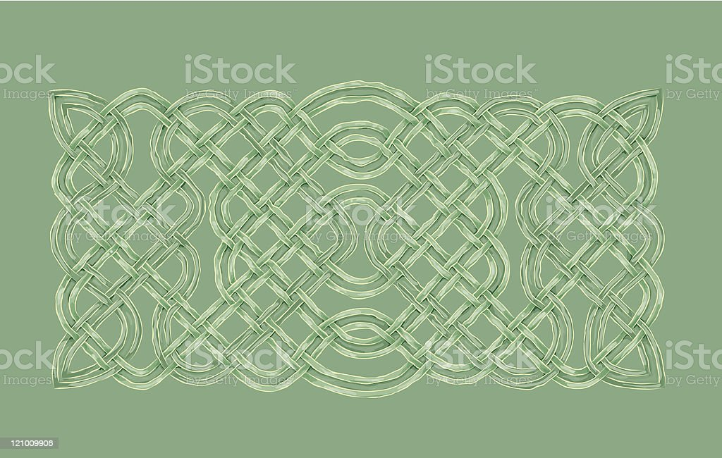 Celtic Knotwork royalty-free stock vector art