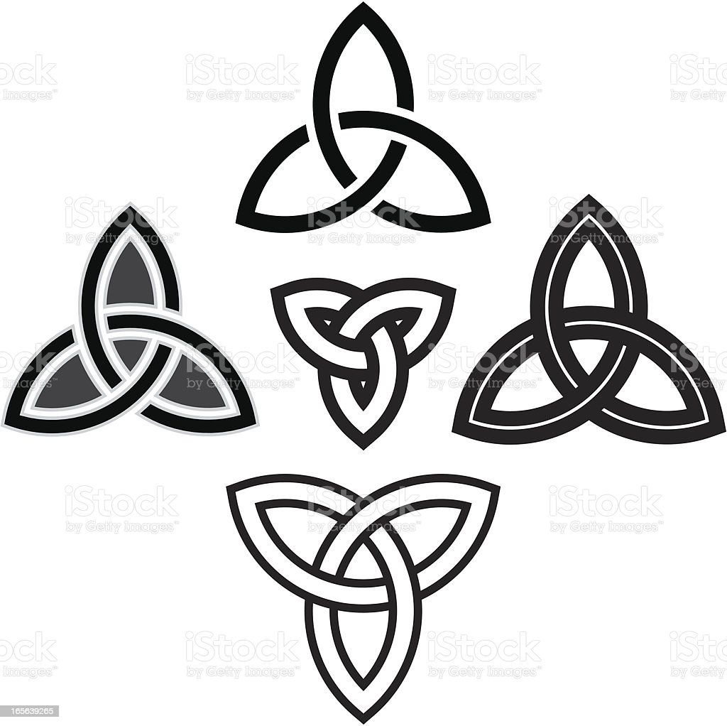 Celtic Knotwork vector art illustration