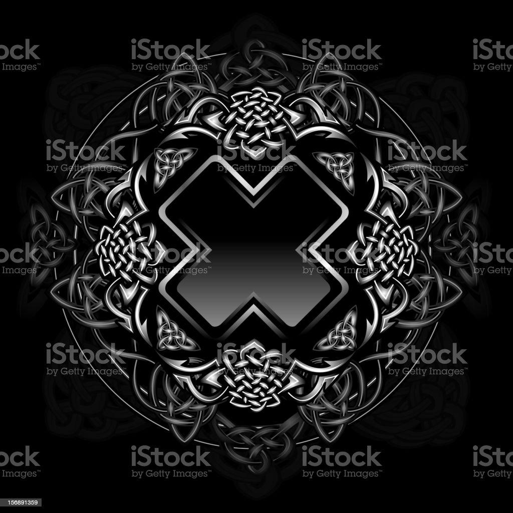 Celtic ornament royalty-free stock vector art