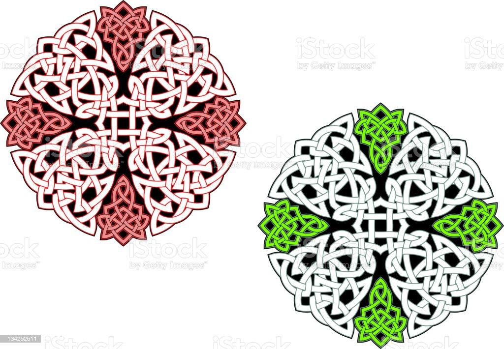Celtic ornamental pattern royalty-free stock vector art