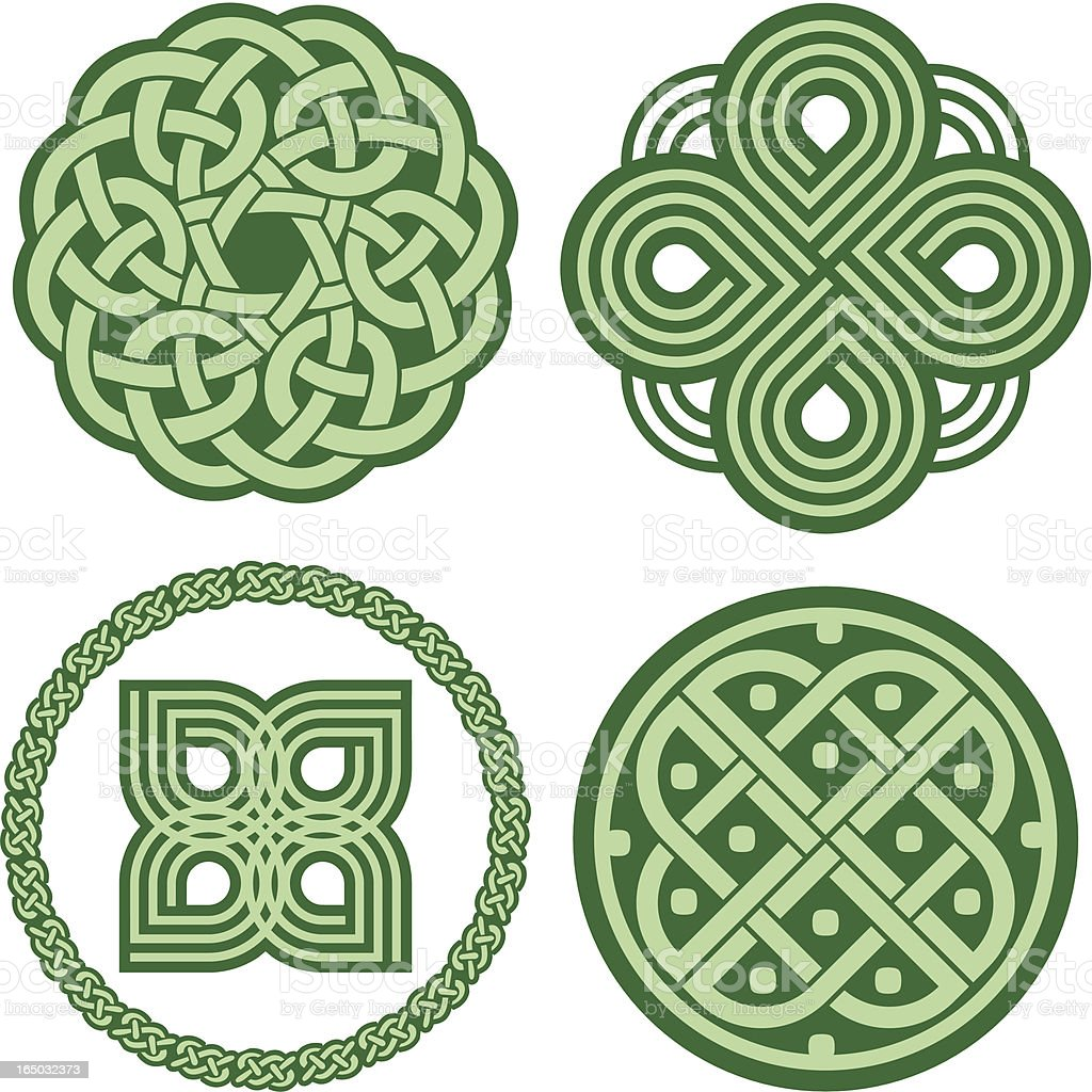 Celtic ornaments (Vector) royalty-free stock vector art