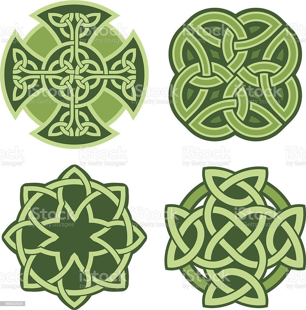 Celtic ornaments (Vector) vector art illustration
