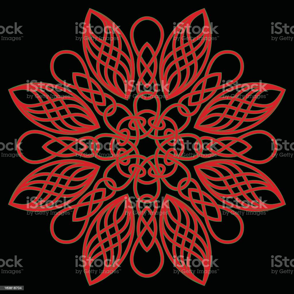 Celtic pattern royalty-free stock vector art