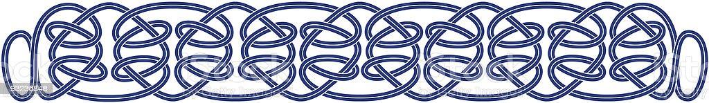 Celtic Ropes royalty-free stock vector art