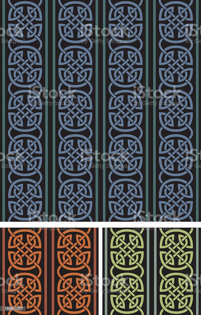 Celtic Seamless Background royalty-free stock vector art
