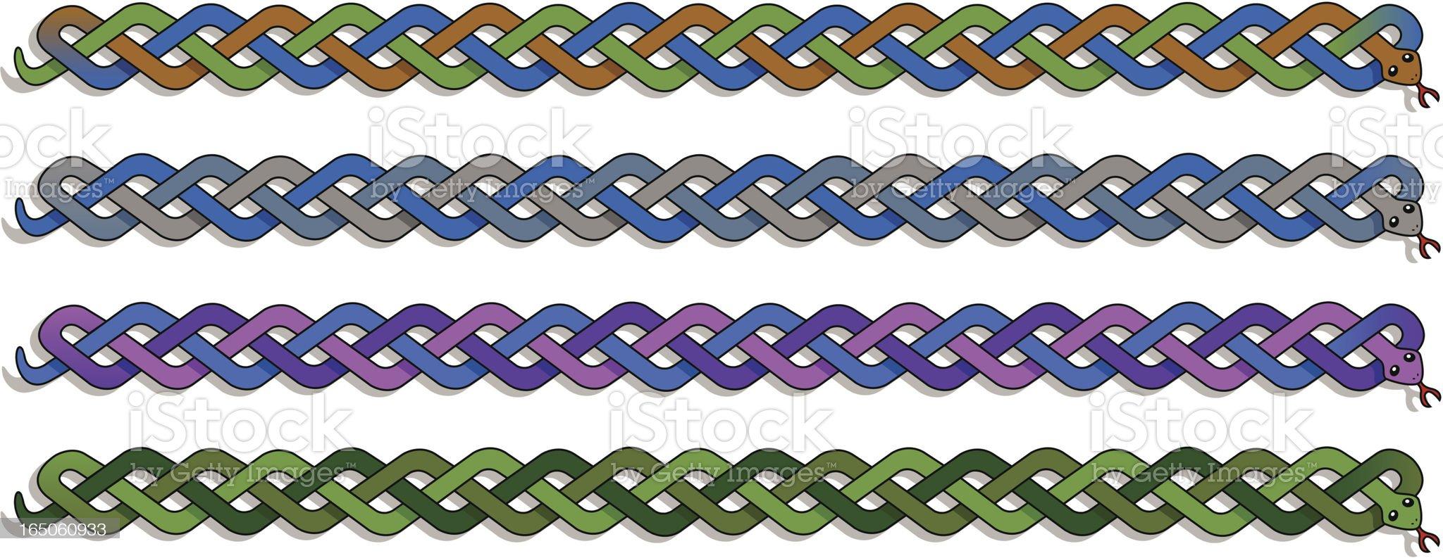Celtic Snake royalty-free stock vector art