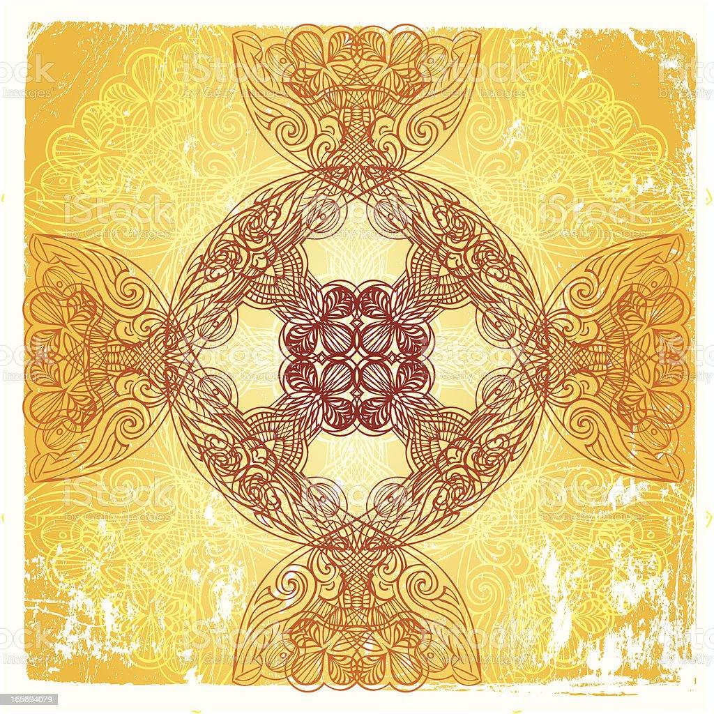 celtic sun royalty-free stock vector art