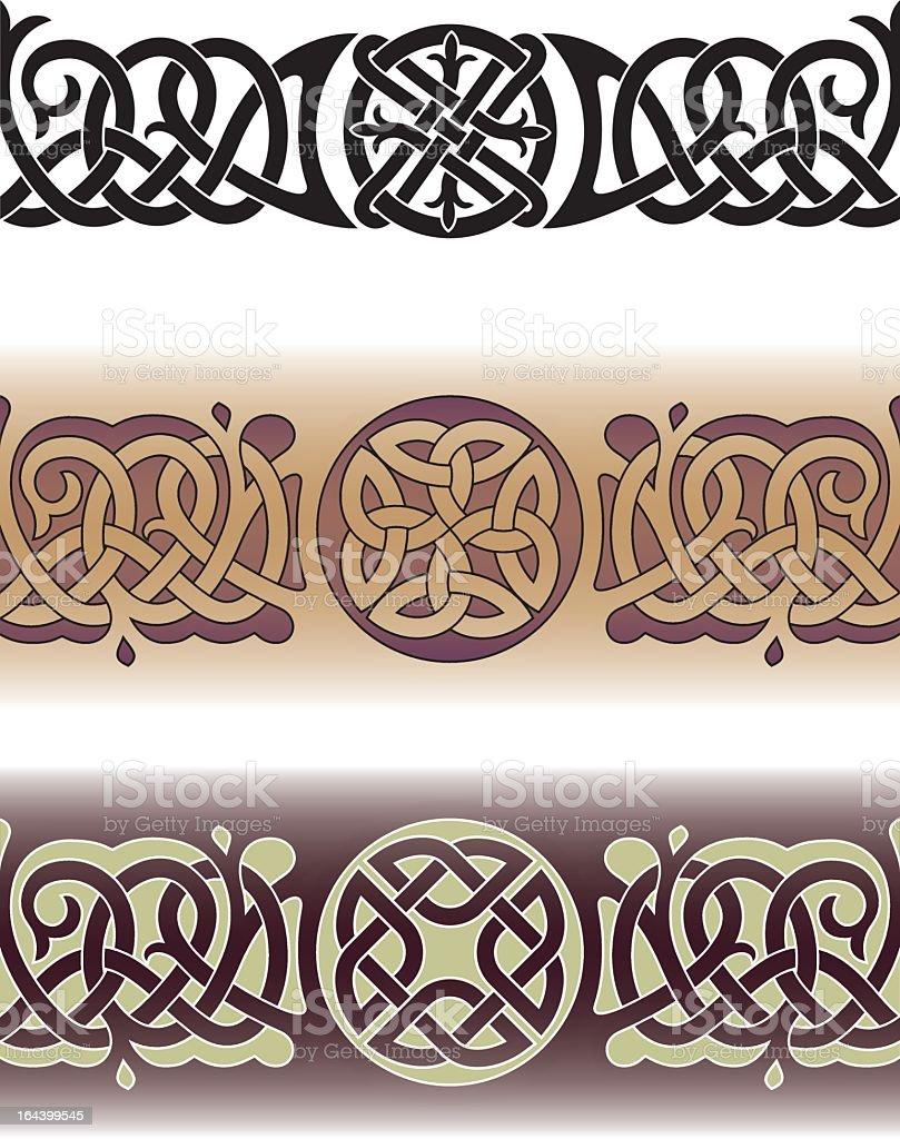 Celtic tattoo pattern royalty-free stock vector art
