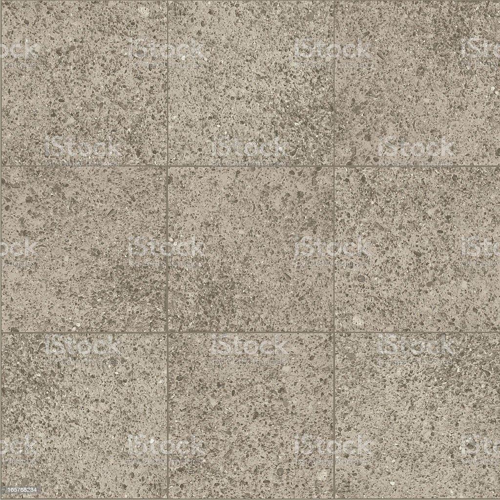 Cement sidewalk squares pattern vector art illustration