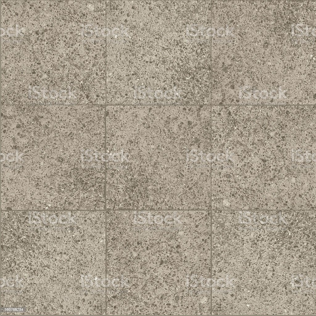 Cement sidewalk squares pattern vector art illustration