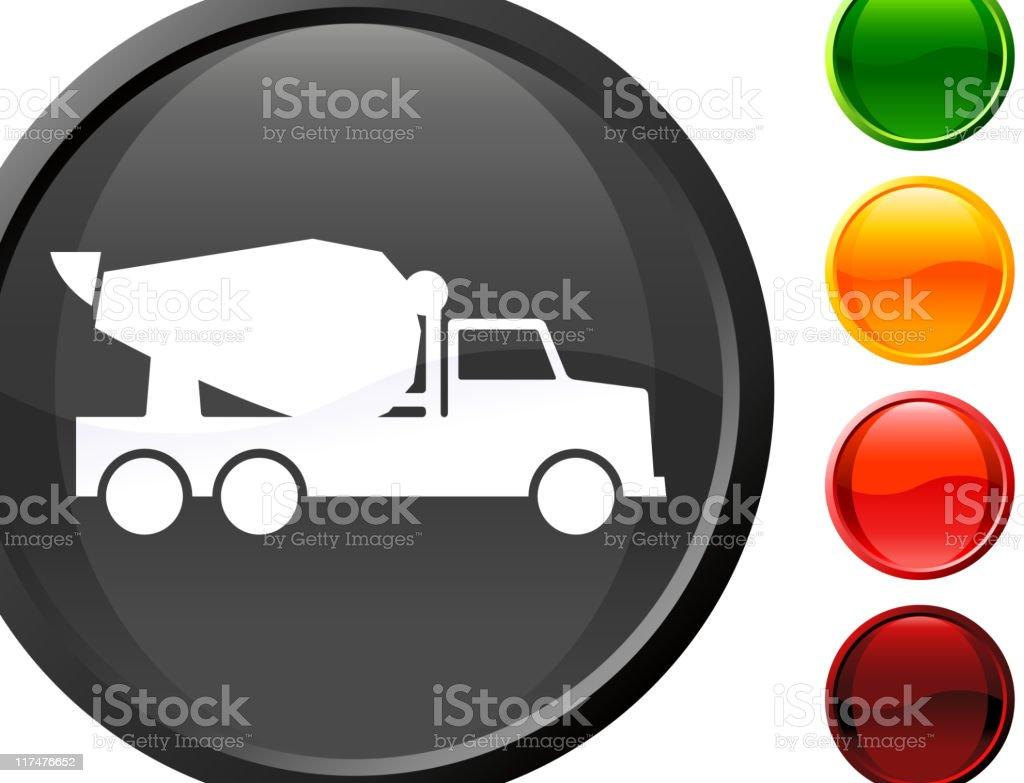 Cement truck internet royalty free vector art royalty-free stock vector art