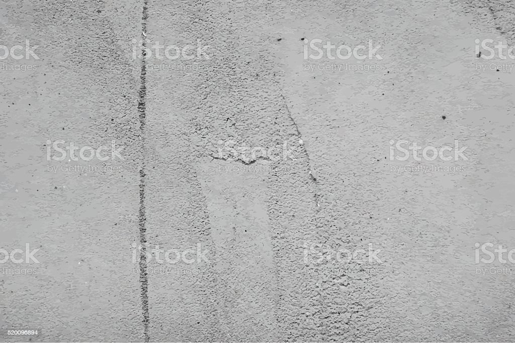 Cement wall texture. Vector background vector art illustration