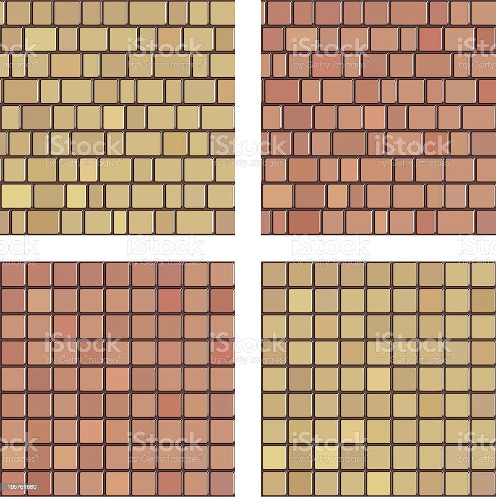 Ceramic tile royalty-free stock vector art