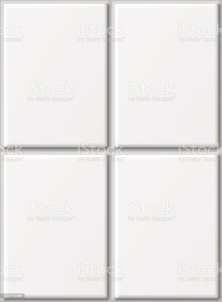 Ceramic tiles. vector art illustration