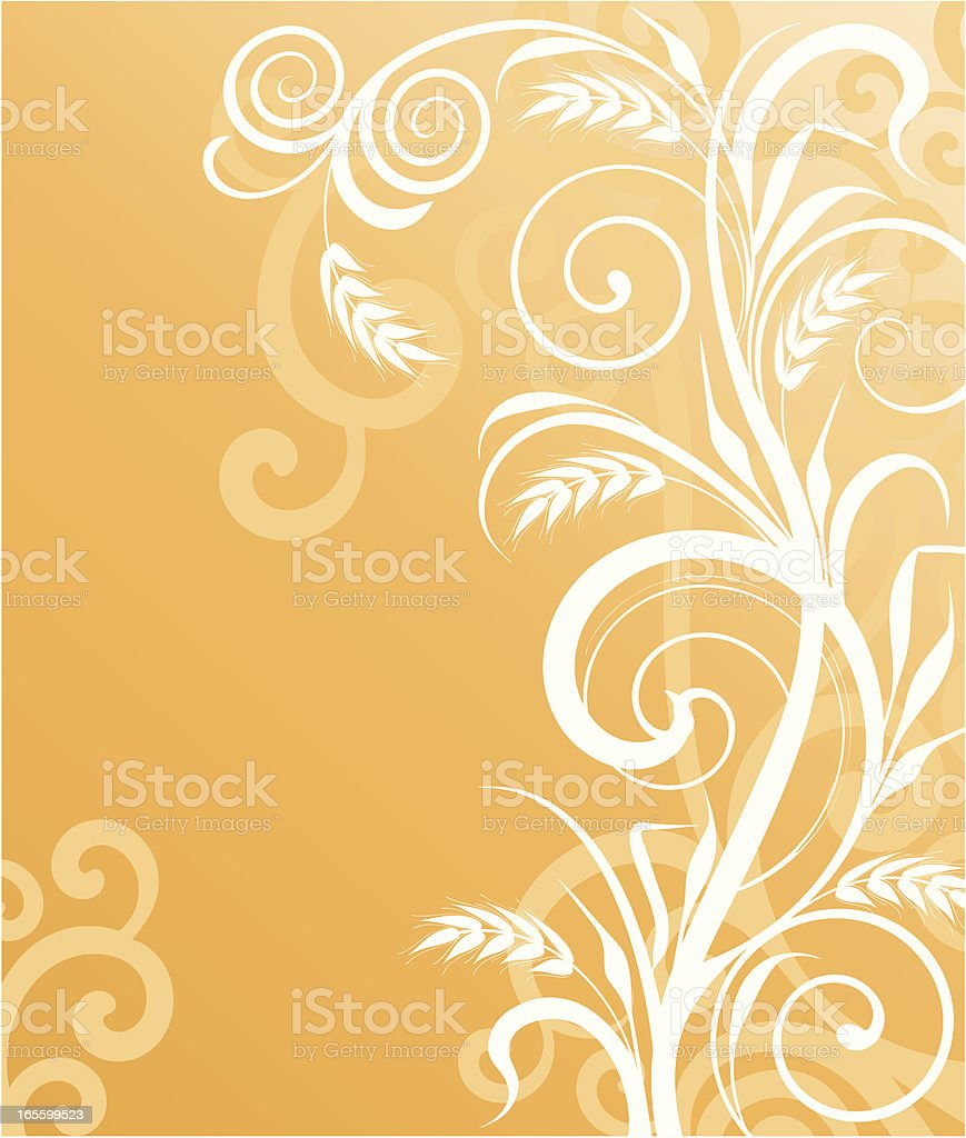 Cereal background royalty-free stock vector art