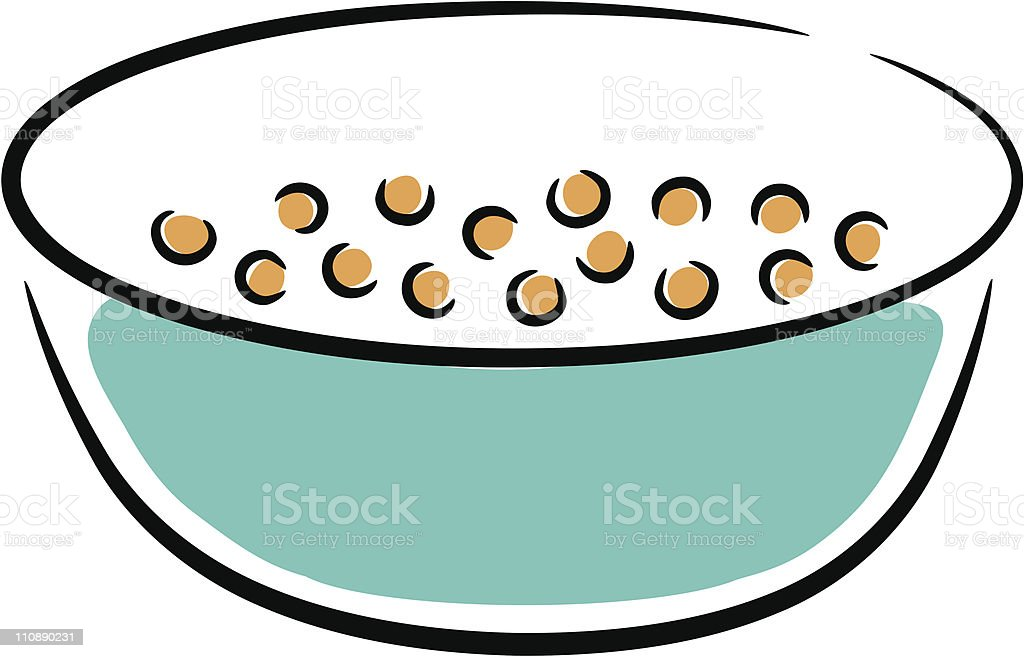 cereal in bowl stock vector art 110890231 istock rh istockphoto com empty cereal bowl clipart