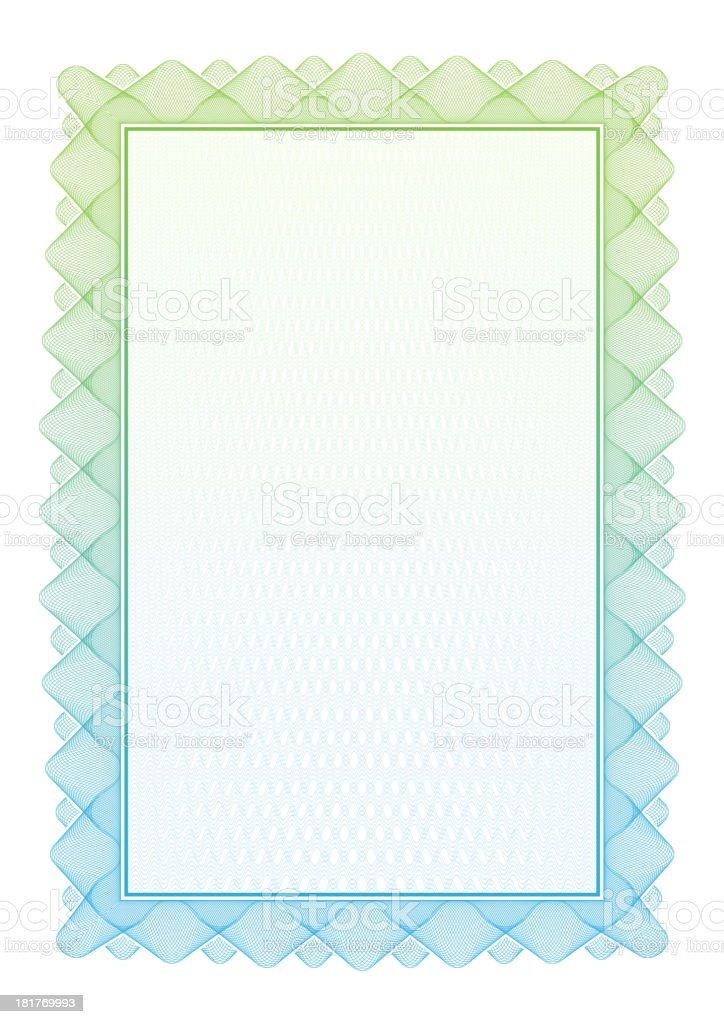 Certificate and diplomas template. Vector royalty-free stock vector art