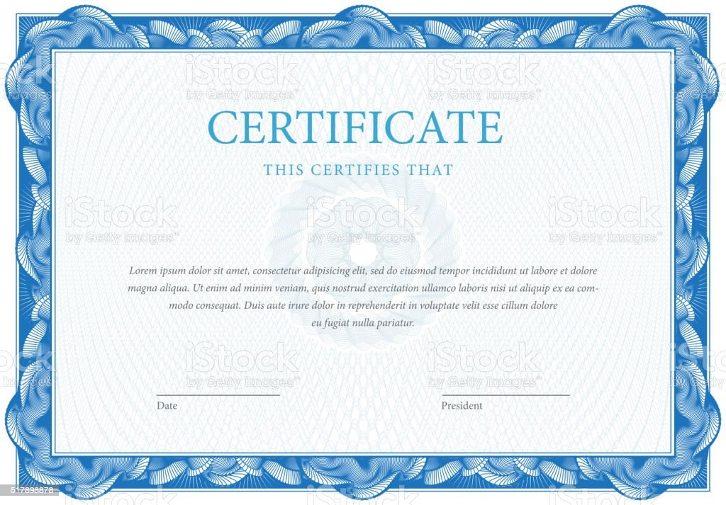 Certificate and diplomas template vector stock vector art 517898878 istock for Vector certificate