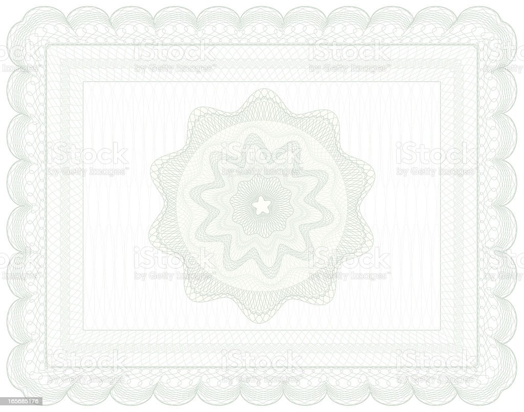 Certificate Design . royalty-free stock vector art
