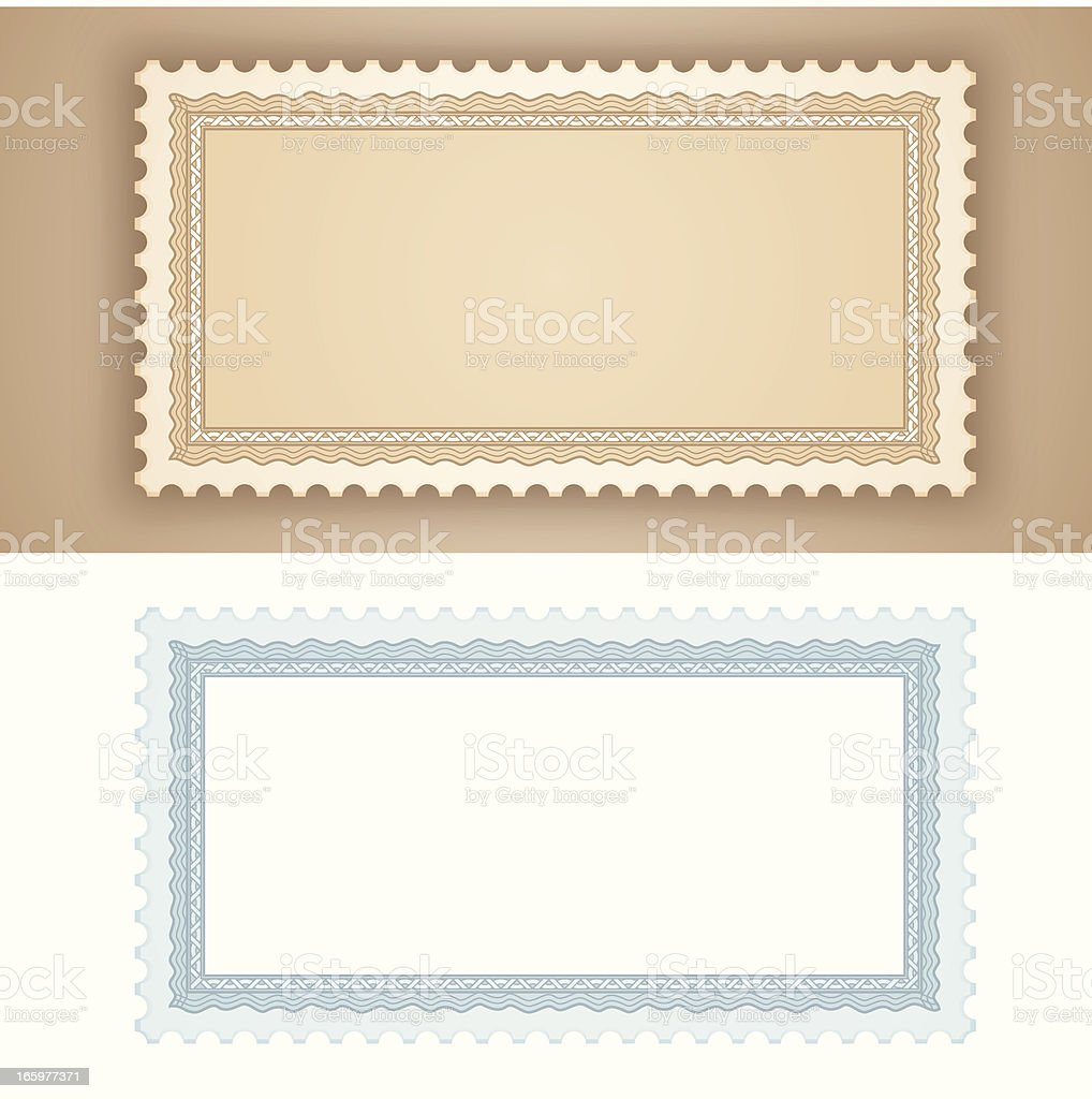 Certificate Stamps royalty-free stock vector art