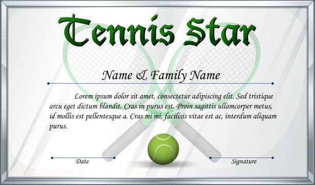 Doc640828 name a star certificate template name a star star tennis award certificate clip art vector images illustrations name a star certificate template yadclub Choice Image