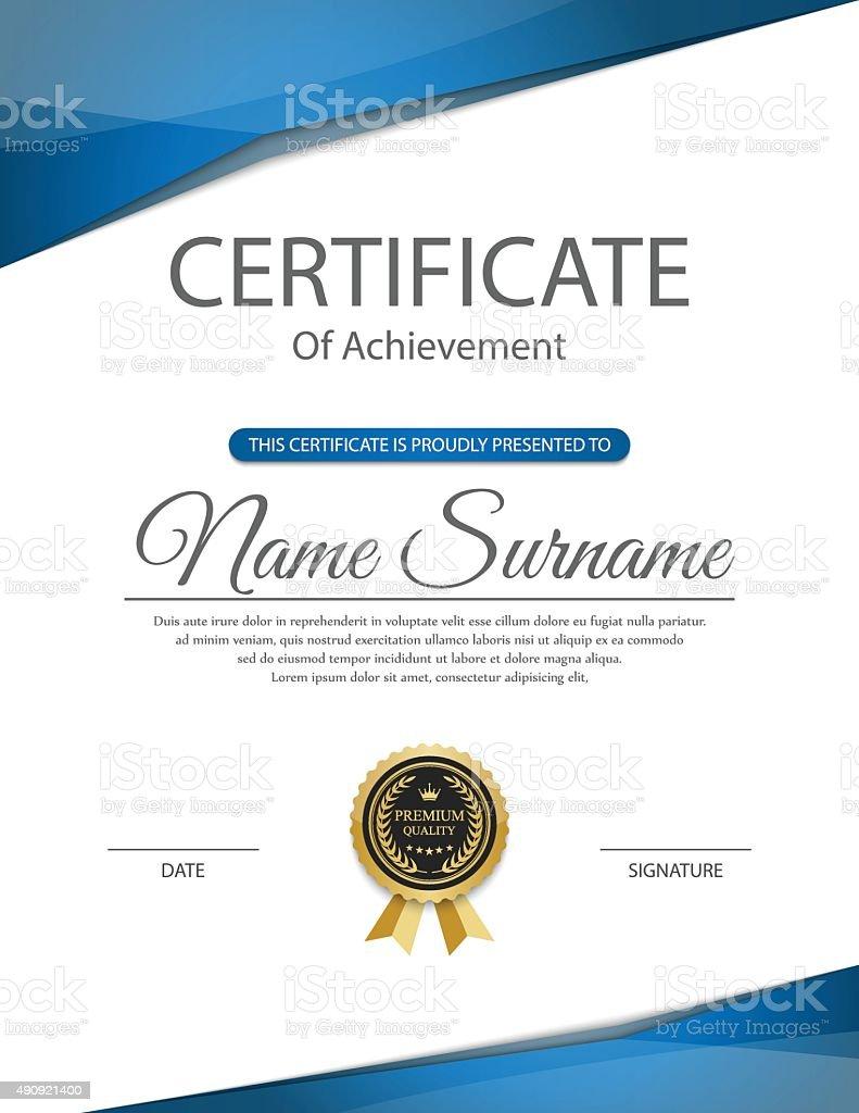 certificate template vector stock vector art istock award award ribbon bank calligraphy christmas decoration certificate template