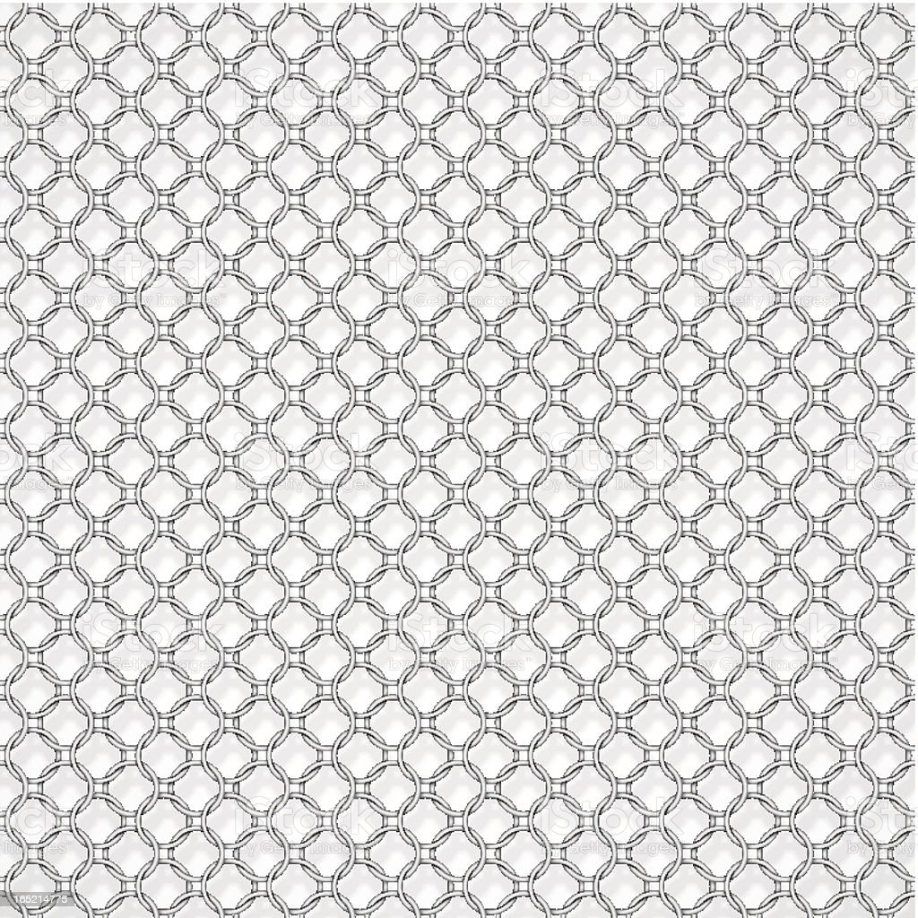 Chain armor royalty-free stock vector art