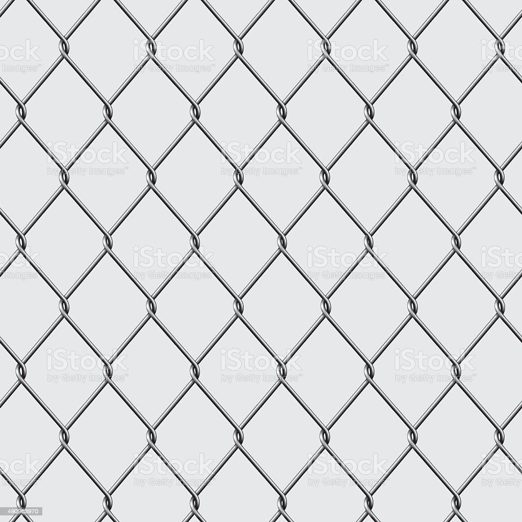 Chain Link Vector chain link fence stock vector art 490963970   istock