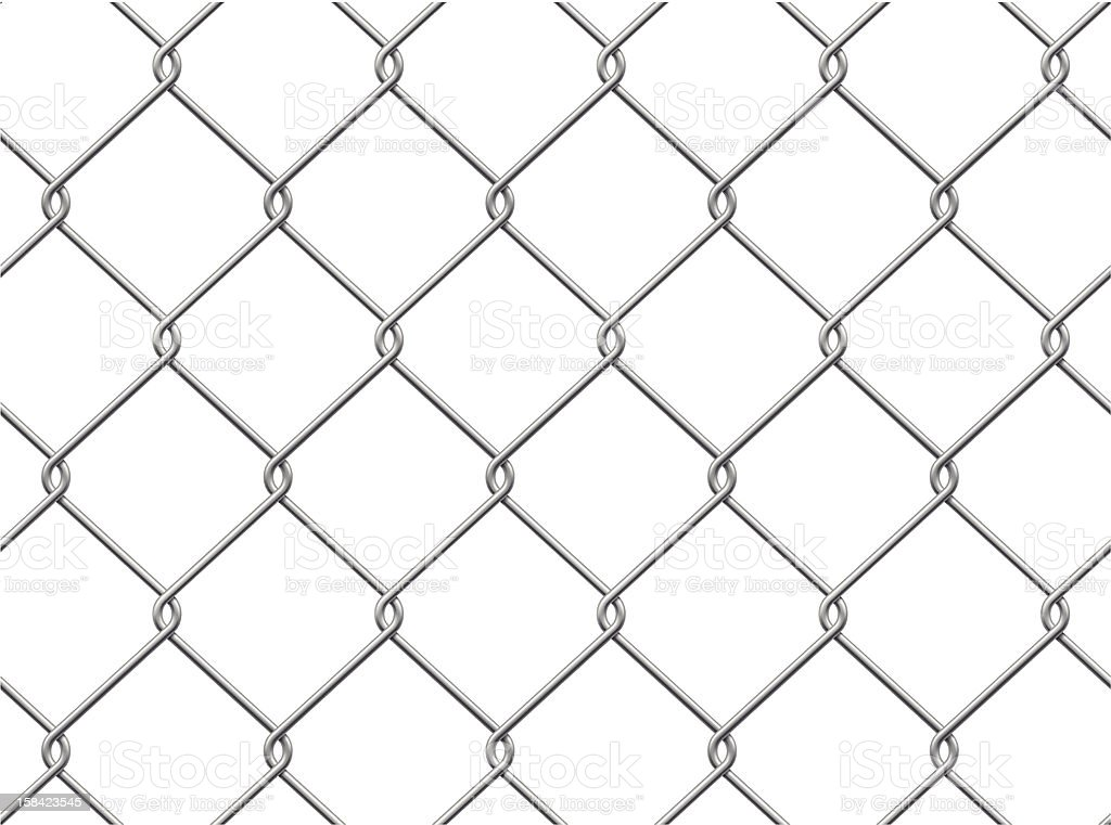 Chainlink Fence. Seamless Pattern. royalty-free stock vector art