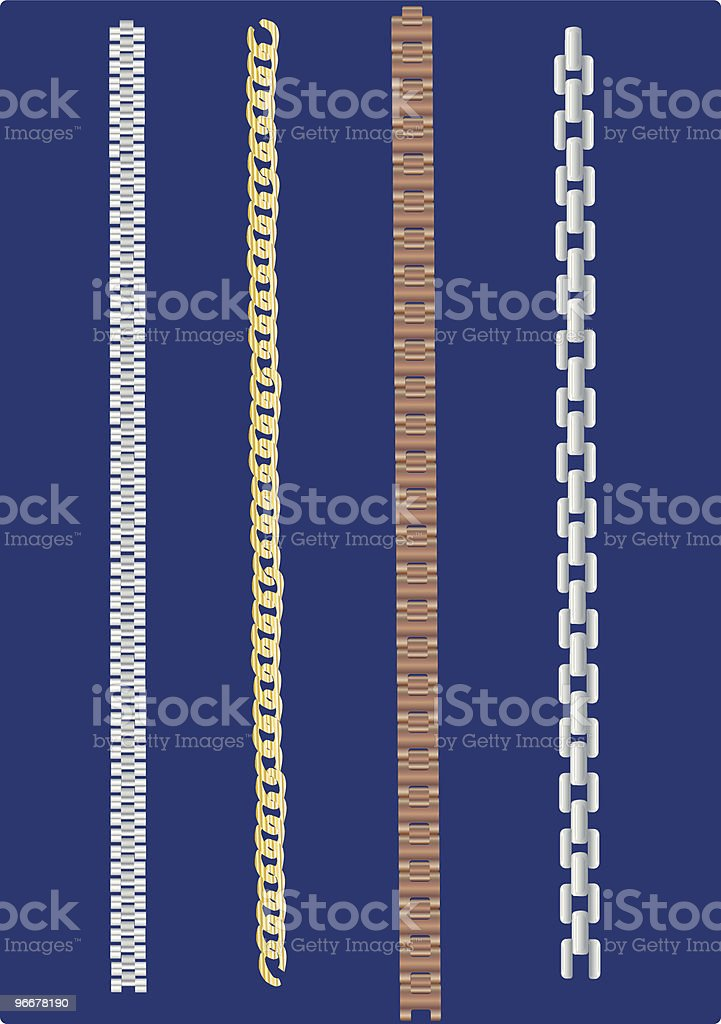 Chains royalty-free stock vector art