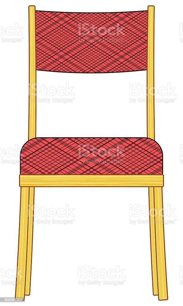 Chair vector art illustration