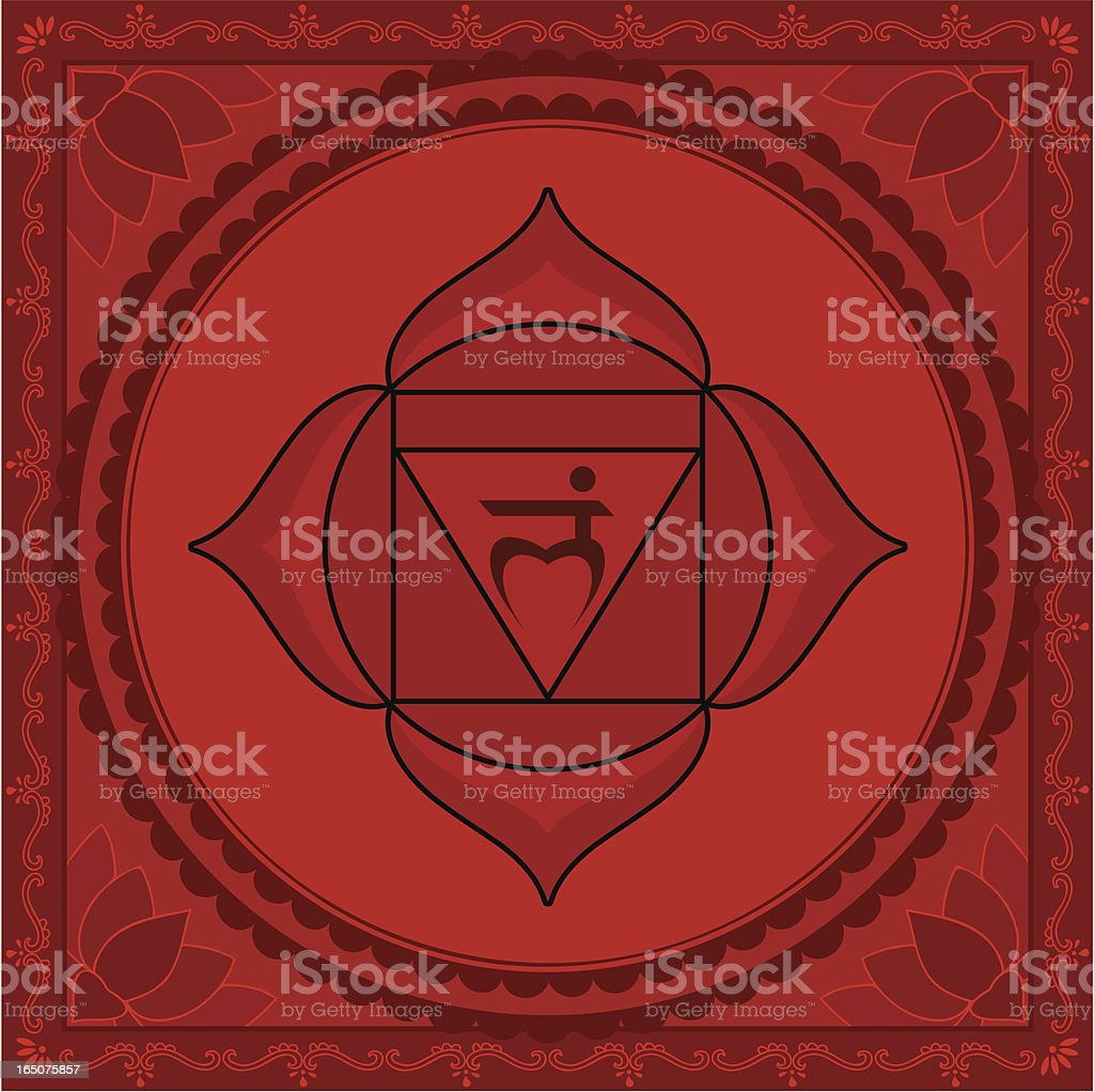Chakra One (Vector) vector art illustration
