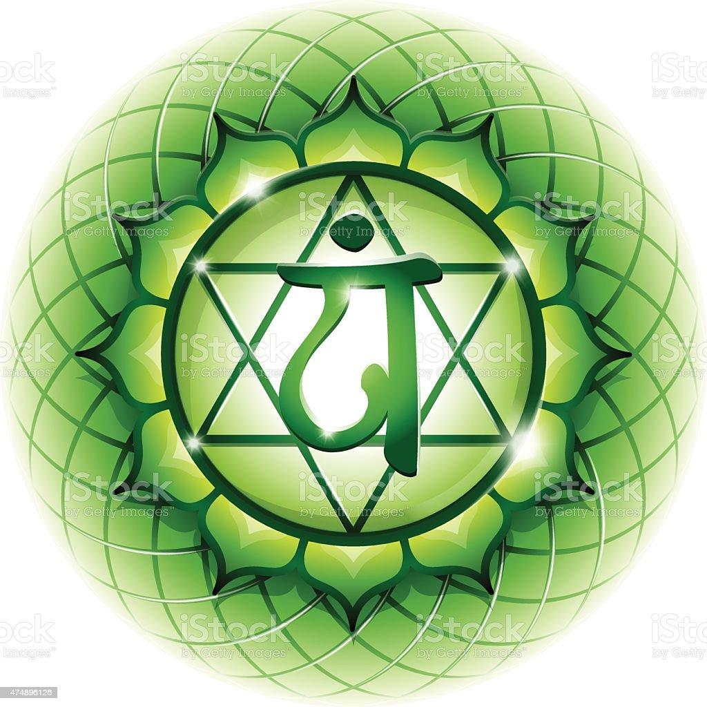 Anahata Chakra Symbol on Weather Forecast Symbols