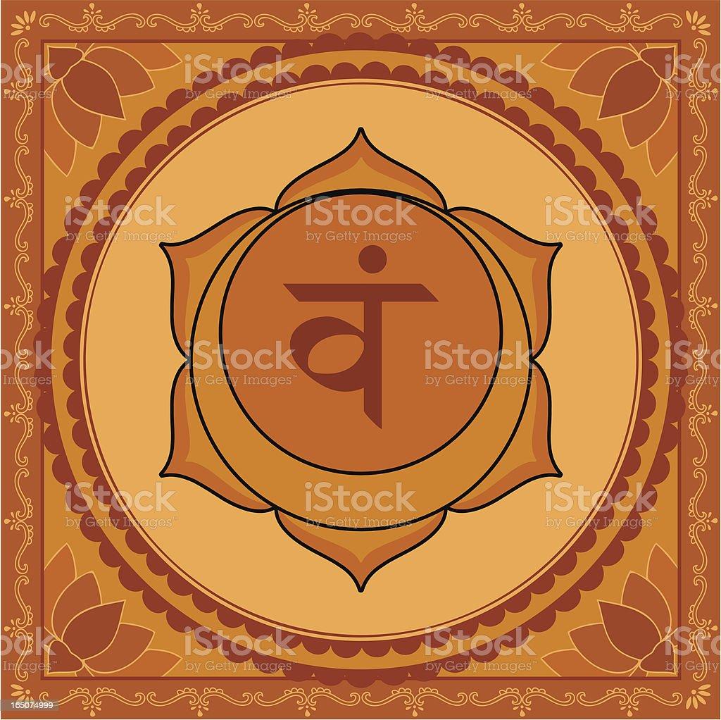 Chakra Two (Vector) royalty-free stock vector art